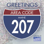 Greetings from Area Code 207 Vol 4 Cover
