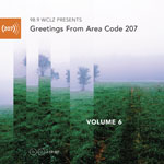 Greetings from Area Code 207 Vol 6 Cover